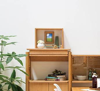 洋室・リビングのインテリアのように馴染む、モダンなデザイン