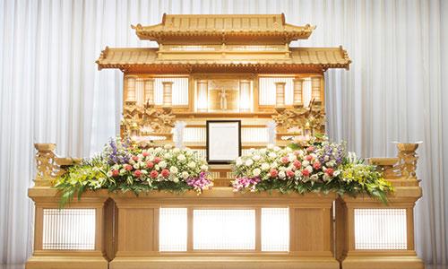 一般葬プラン白木祭壇タイプ