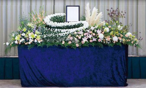 一般葬プラン生花祭壇タイプ