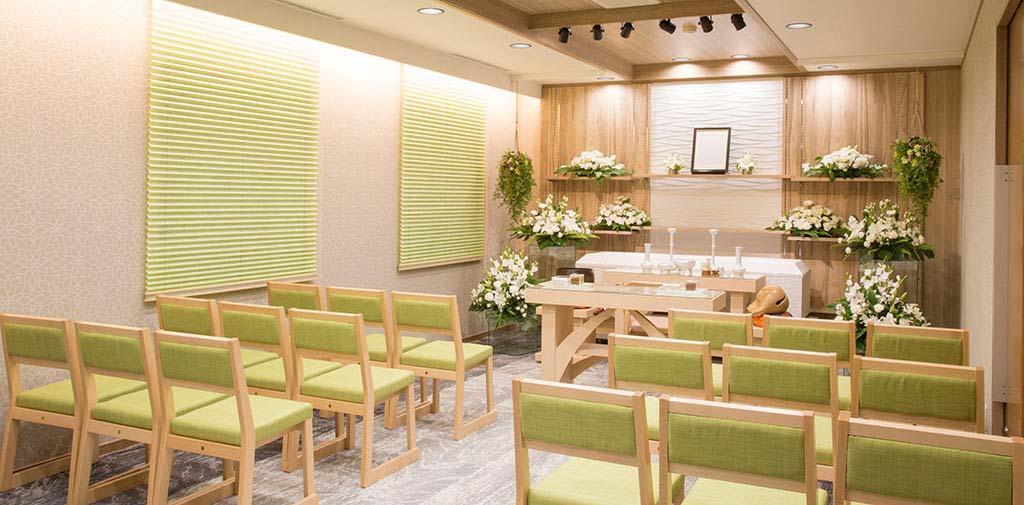 少人数の家族葬におすすめの3階式場。