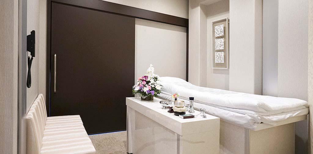 面会可能な個室タイプのご安置室を完備。