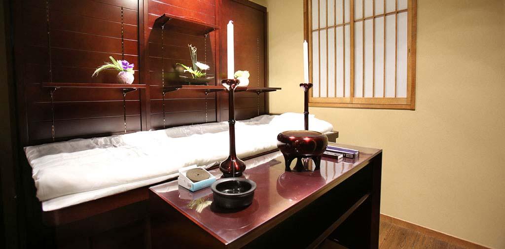 自由にご対面できる個室タイプのご安置室完備。