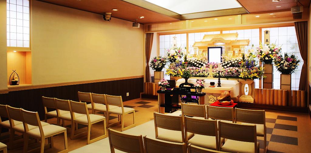 小規模な家族葬に最適な式場「さくら」
