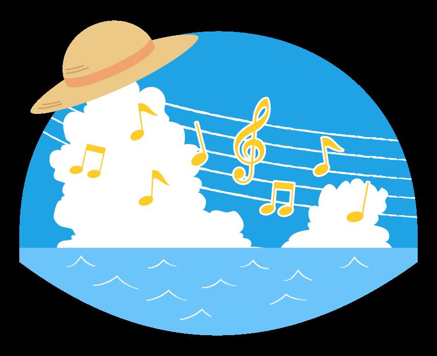 西湘ホール音楽イラスト
